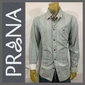 Prana Organic Cotton Long Sleeve Shirt